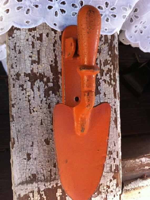 Items Similar To Cast Iron Door Knocker In Pumpkin Burnt