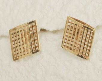 GORGEOUS Like New Vintage 14K Earrings