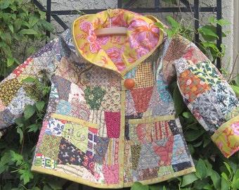 toddler antique quilt jacket