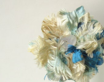 Sea Breeze Ribbon Flower