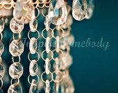 Sugar and Spice and Everything Nice. 8x12 Fine Art Print. Vintage, Retro, Shabby Chic, Chandelier, Glamorous, Romantic.