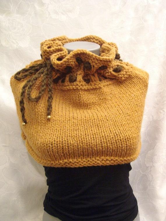 Neckwarmer, bustier, hood and skirt