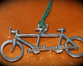Tandem Bicycle Ornament