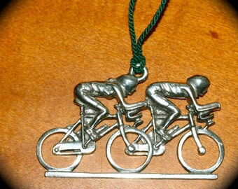 Bicycle Ornament - Couple