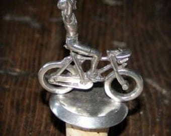 Bicycle Gift - Victory Wine Cork - Male