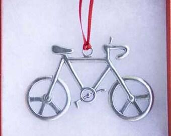 Bicycle Ornament - Peace Bike