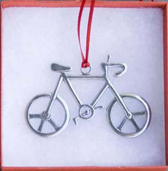 Bicycle Ornament - Peace Bike