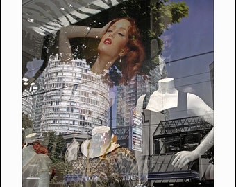 For Christmas Artists Exposed, Clyde Keller and Sona Reiter Merry Xmas, MY EXOTIC MANIKIN, fine art print