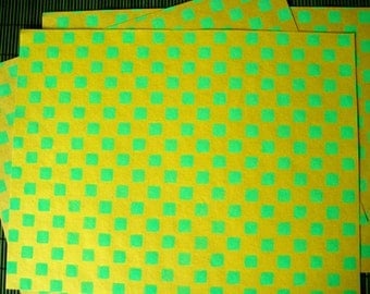 4 Decorative Papers  8.5 x 11