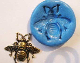 Ant Flexible Silicone Push Mold for Polymer clay, Resin,Wax,Miniature Food,Sweets,plaster