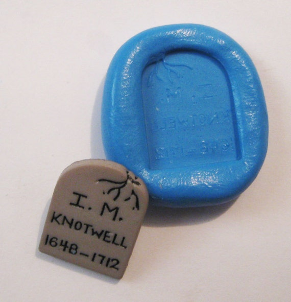 Rip Flexible Silicone Push Mold for Polymer clay, Resin,Wax,Miniature Food,Sweets and more..