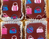 Soap Chocolates with Purses (6 pcs) Perfect for Gift Giving and Girls Night Out Favors