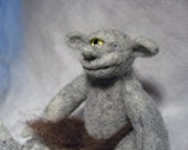 Wee Beastie - Simon the Cyclops - Needle Felted Pocket Monster
