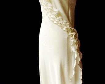 Eco friendly wedding dress gown - organic cotton bamboo velour