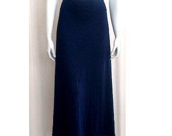 Long a-line skirt, organic cotton women's clothing