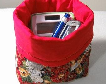 Mini bag -- Christmas Chrysanthemums