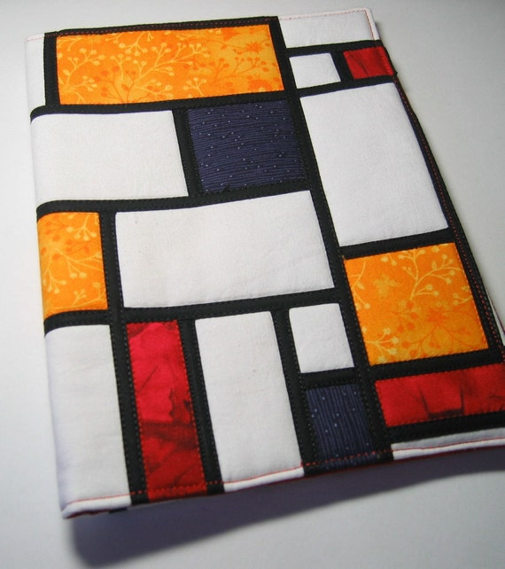 Channelling Piet Mondrian - journal cover