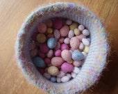 Crocheted Spring Basket