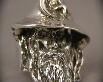 Sterling Silver Merling the Wizard Ring
