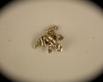 14k Tiny Gold Tree Frog Charm