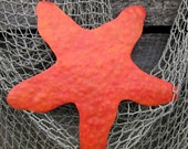 Reserved custom order for Jill - Starfish - Metal Wall Sculpture