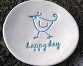 Lil Dish - Happy day blue birdie