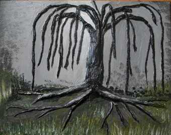 Our Tree- 16x20 inch original acrylic painting
