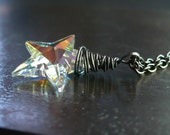 Swarovski Crystal and Oxidized Sterling Silver - Lumiere des etoiles