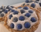 Blueberry Cream Pie Candle Handmade with Soy Wax