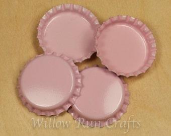 100 Pink Bottle Caps  (03-02-210)