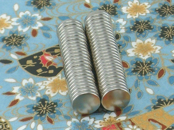 "50 Pack 3/8"" x 1/16"" Neodymium Rare Earth Magnets  (13-08-115)"