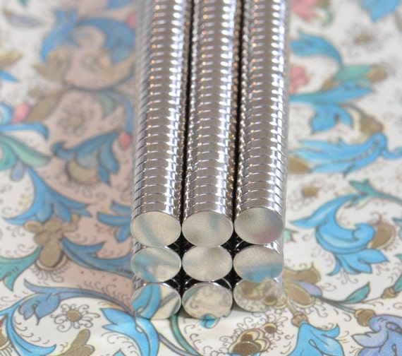 "150 Pack 1/4"" x 1/16"" Neodymium Rare Earth Magnets   (13-08-111)"