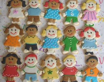 Little Children Cookies - 1 Dozen