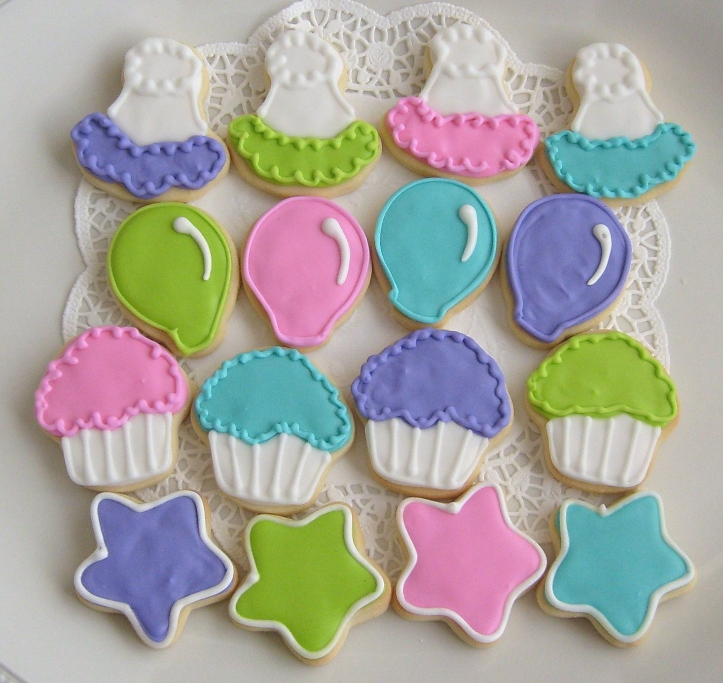 Mini Birthday Decorated Cookies Birthday Cookie By Lorisplace