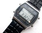 Vintage Geek Chic - Sieko Sports 100 Digital Chronograph Watch