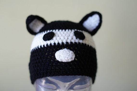 Halloween Cartoon Cat Handmade Crocheted Children Autumn Hat