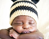 Crochet PATTERN Bee Baby Hat PDF Pattern 4 sizes 0 months to 3 years