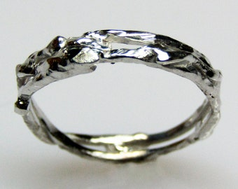 Recycled Gold Wedding Band - 18K