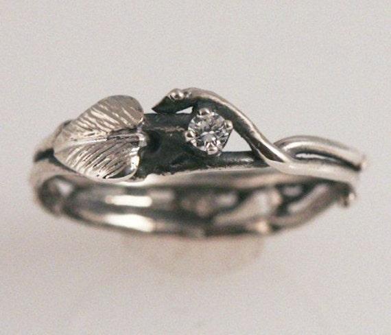 Simply Diamond Eco-Engagement Ring (CUSTOM)