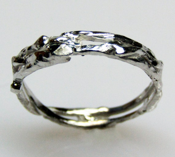 Recycled Silver Wedding Band