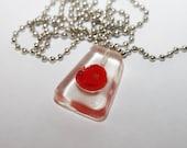 Dexter Blood Slide Necklace