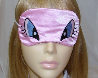 Weird and Funny Eyes Embroidered Sleep Mask