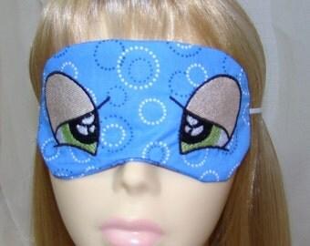 So Sleepy Eyes Embroidered Sleep Mask