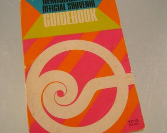 Retro Official Souvenir Guidebook to the 1968 Hemisfair in San Antonio, Texas
