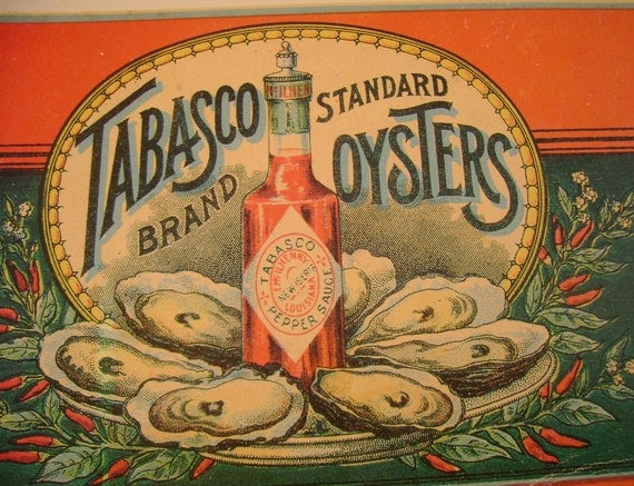 Vintage Tabasco Pepper Sauce Advertising Post Card, Avery Island, Louisiana