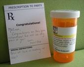 Prescription For the Graduate, Congratulations Card, RUSH Order