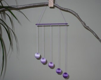 The Gobbi Mobile - Purple (5 spheres)