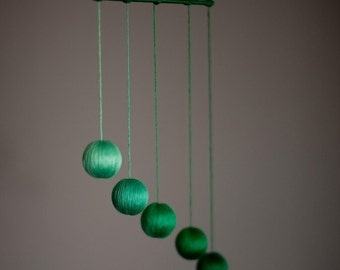 Montessori Baby Mobile, The Gobbi (green)