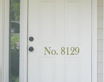 Custom  Home Address Numbers  - perfect for your front door
