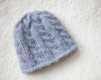 PATTERN for Newborn Cabled Cap